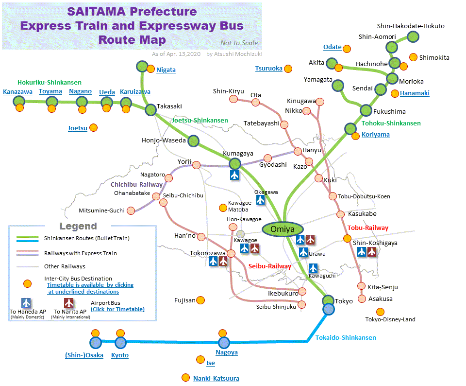 Saitama Express Train and Expressway Bus Routemap on portland bus route map, manila bus route map, busan bus route map, athens bus route map, hamamatsu bus route map, lima bus route map, singapore bus route map, lyon bus route map, berlin bus route map, dubai bus route map, washington bus route map, hanoi bus route map, stockholm bus route map, frankfurt bus route map, rome bus route map, xian bus route map, adelaide bus route map, santiago bus route map, takayama bus route map, wellington bus route map,